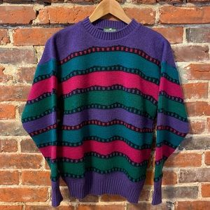 Vintage Cabin Creek Knit Sweater
